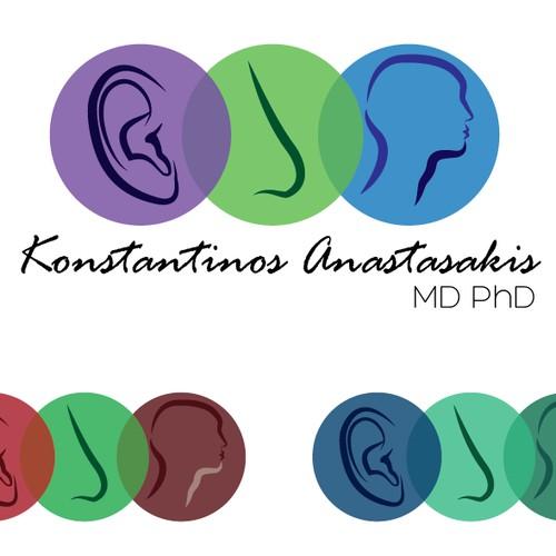 Help Konstantinos Anastasakis, MD, PhD with a new logo