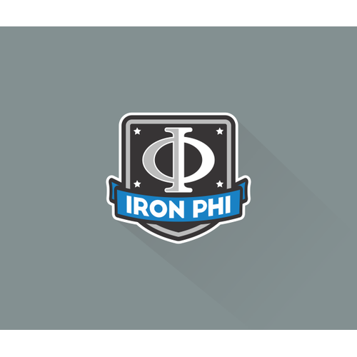Help us raise money for ALS research with a logo for Iron Phi charity athletics program