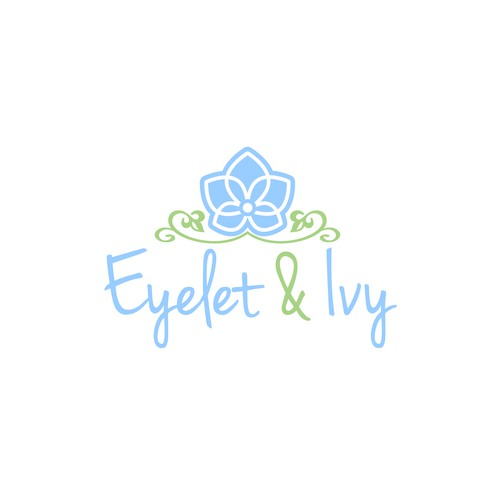 Design a sweet, feminine logo for new girl's clothing line - Eyelet & Ivy!