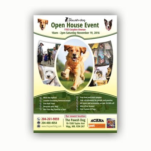 Open House event.