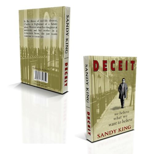 Book cover design for mainstream novel