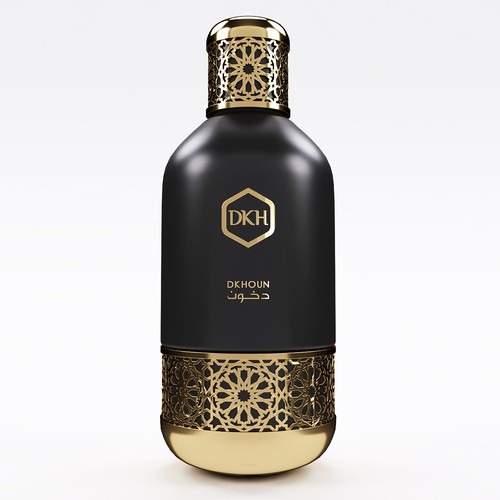 Luxury Perfume Bottle Design