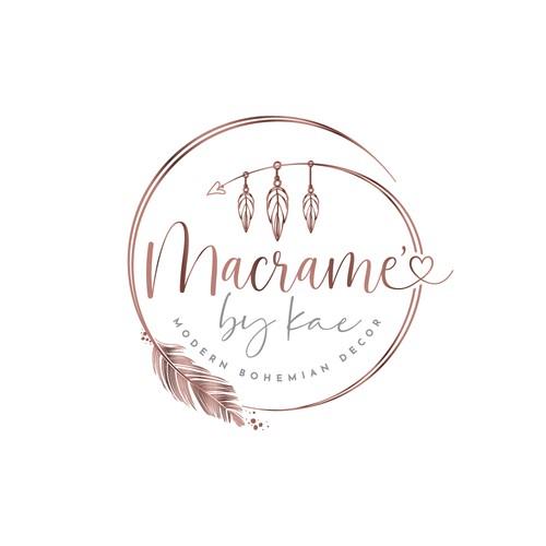 Logo for bohemian decor company.