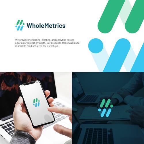 WholeMetrics logo concept