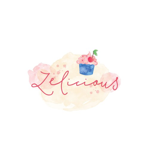 Logo for home made desserts.