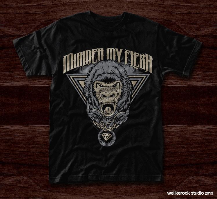 "Create ""Murder My Flesh"" t-shirt design"