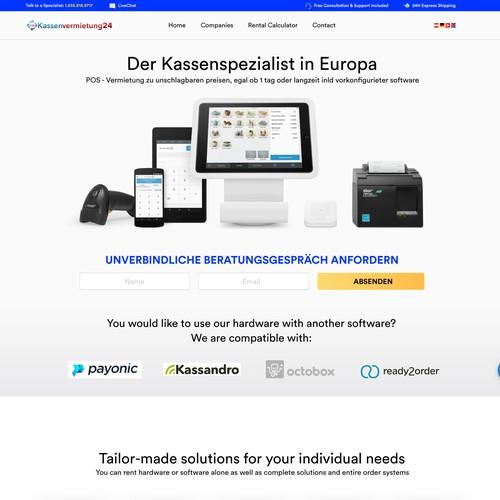 Web Concept for Register System