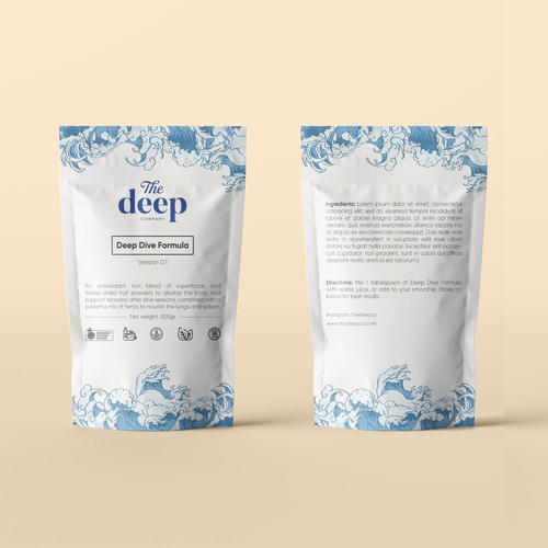 Pouch bag design