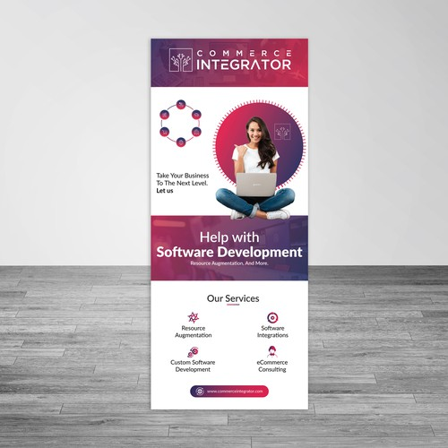 Roll up Banner for It firm