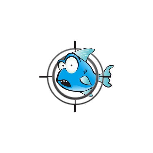 Cartoon style logo
