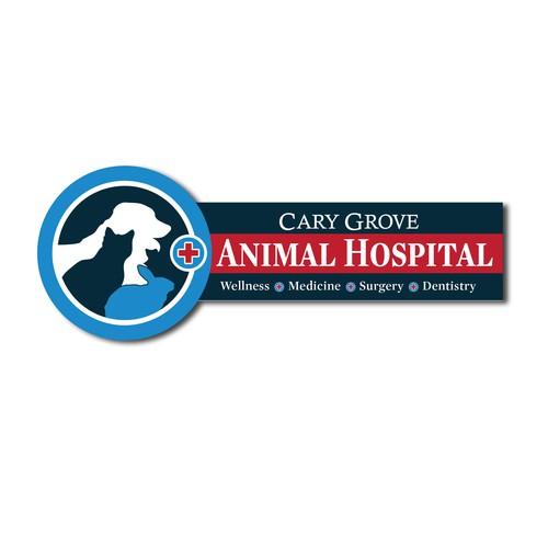 Signage for Animal Hospital
