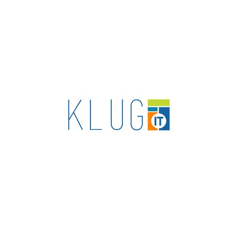 Logo concept for KLUG IT