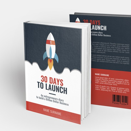 cover book, 30 days to launch