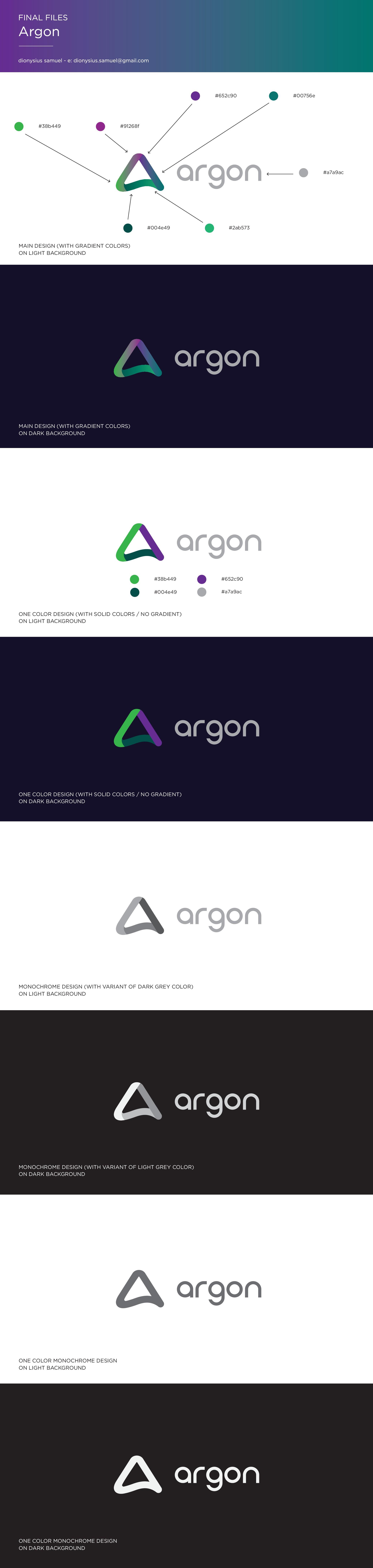 Argon Logo Design