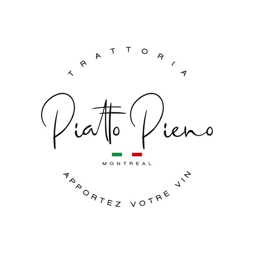 Piatto Pieno Logo Design