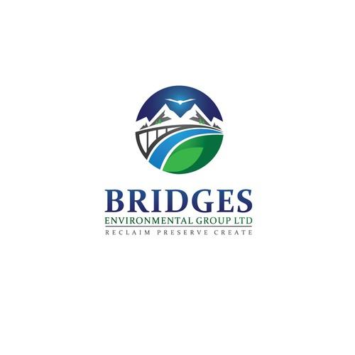 Bridges logo design