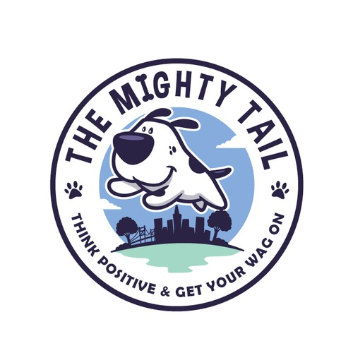 The Mighty Tail logo