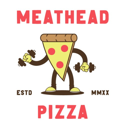 Logo concept for pizza brand