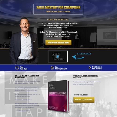 Webpage Re-design!