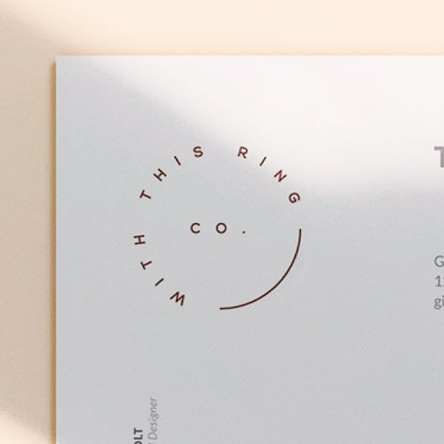 Minimalistic & elegant visual identity for jewelry