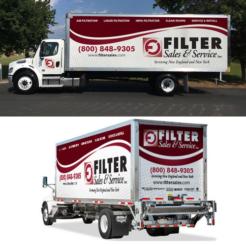 trailer wrap for FILTER sales & service Inc.