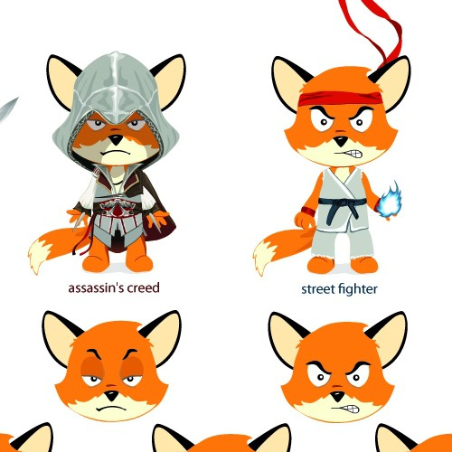 Create the Brand Mascot for Hitfox.com