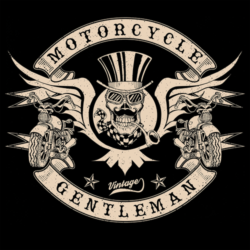 Motorcycle gentleman
