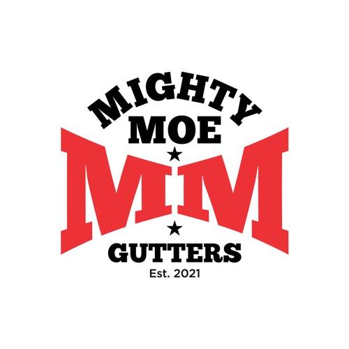 Mighty Moe GuttersLogo
