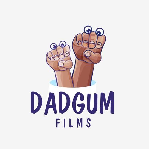 Dadgum Films Logo Design
