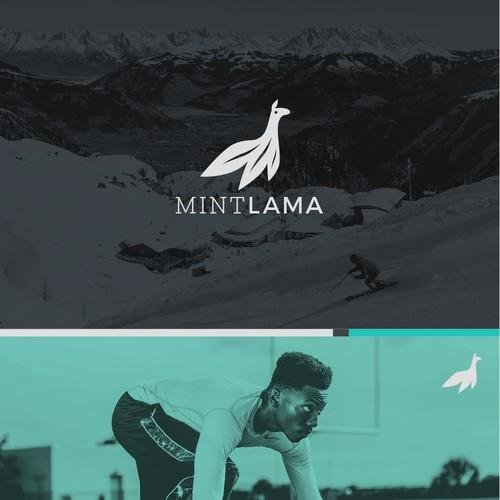 Mint Lama online sportswear logo