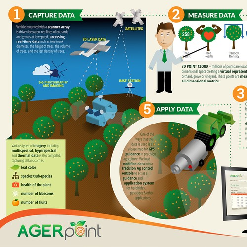 Create a process infographic for AGERpoint