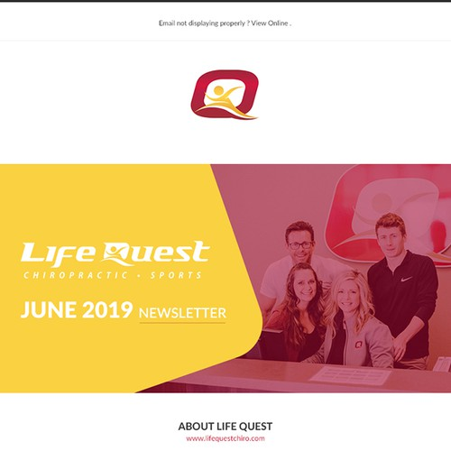 Life quest email theme