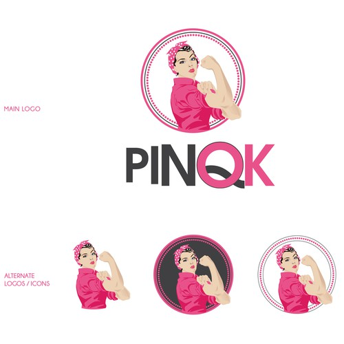 Pinqk needs a new logo
