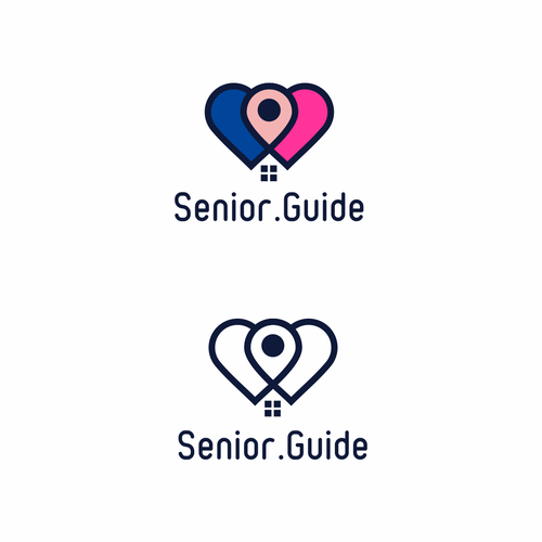 Logo for a Health Care lead-gen site Senior.Guide
