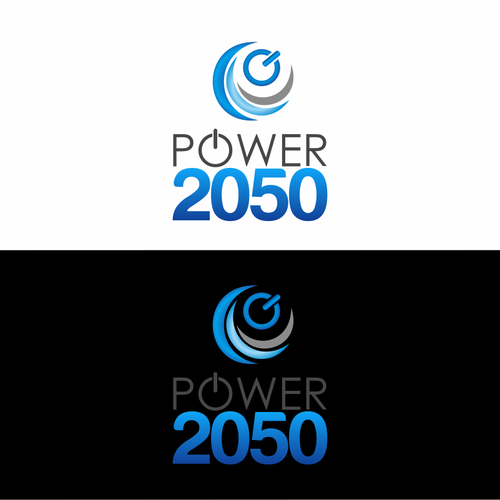Create a unique image blending energy and technology for Power2050