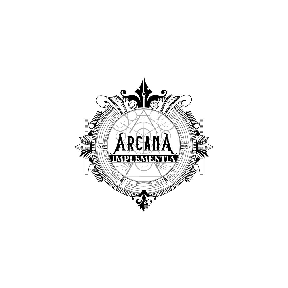 Design a fantastical logo for a (faux) ancient magical order!