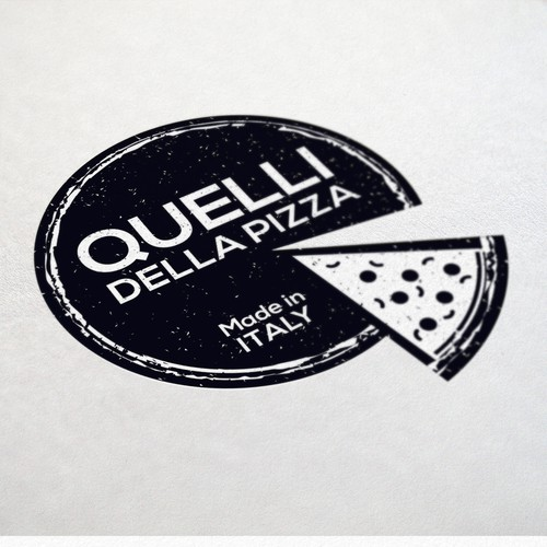 Logo design for an Italian Pizza distributor - express tradition inmodern time!