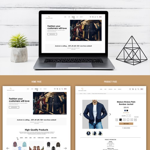 Web Design For Gentleman Jones