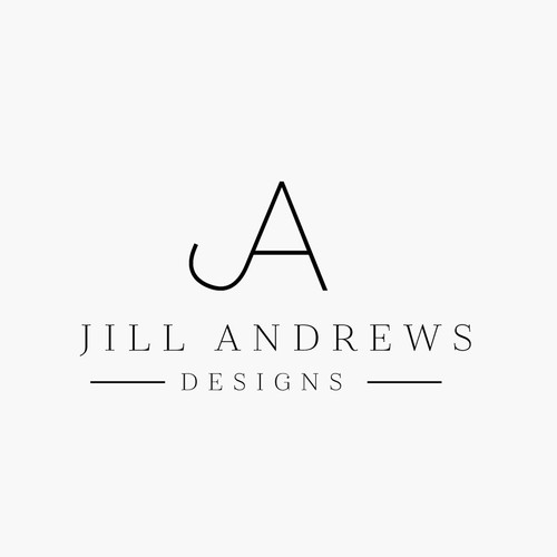 Edgy with Elegance Logo for Interior Design Firm
