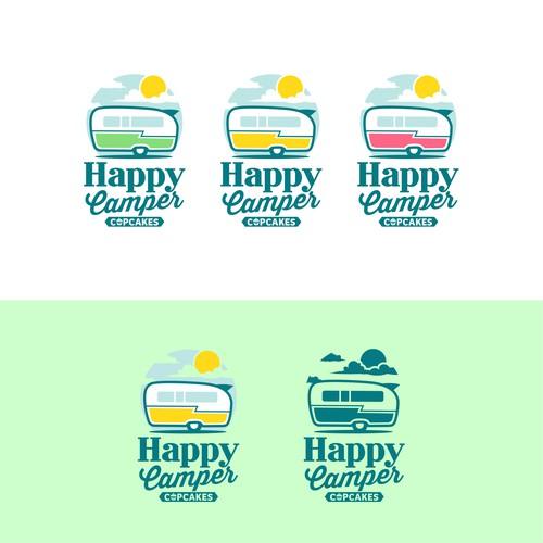 HAPPY CAMPER CUPCAKES