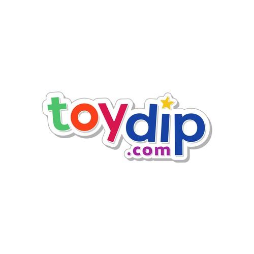 A Joyful Logo for Toydip.com