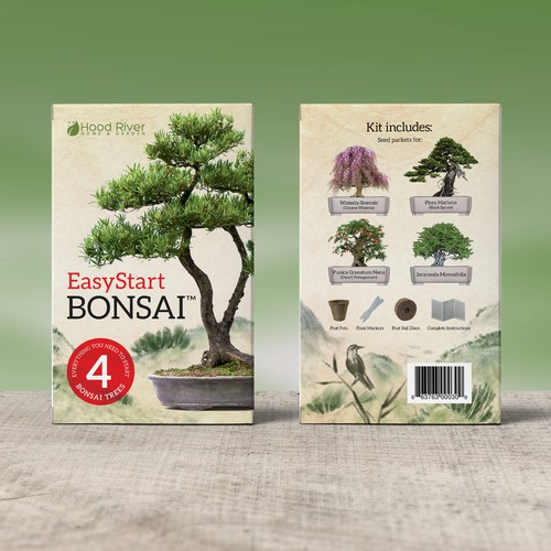Bonsai kit box design