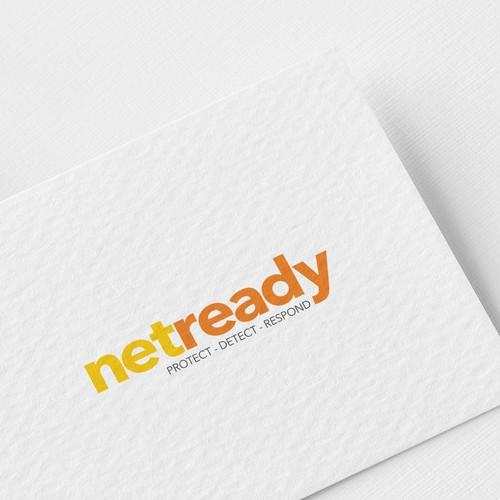 Bold logo concept for Netready