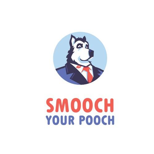 """Smootch Your Pooch"" logo"
