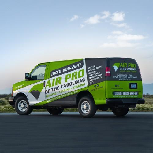 Air Pro Van Wrap