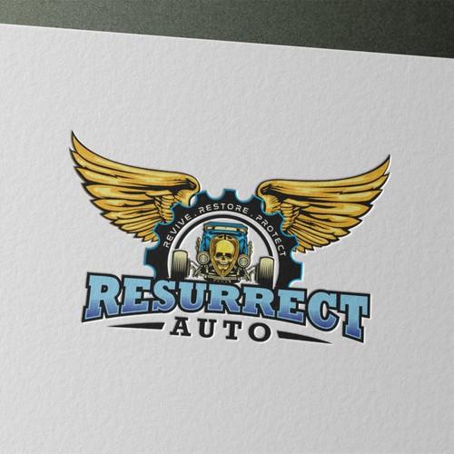 RESSURECT AUTO LOGO