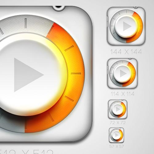 Icon Design for iOS Music App