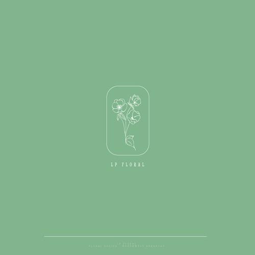 Logo for a floral design freelancer
