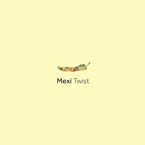 Bold logo concept for Mexican restaurant