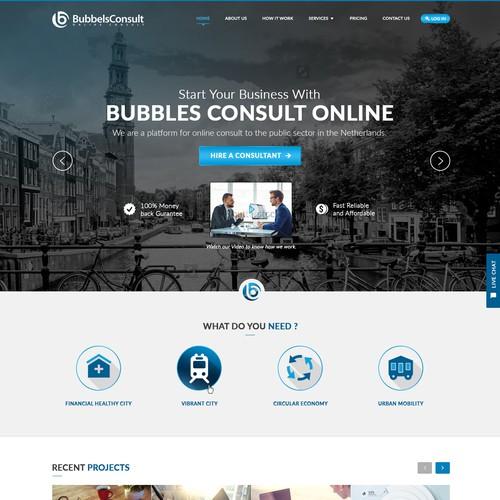 Consulting Website Design